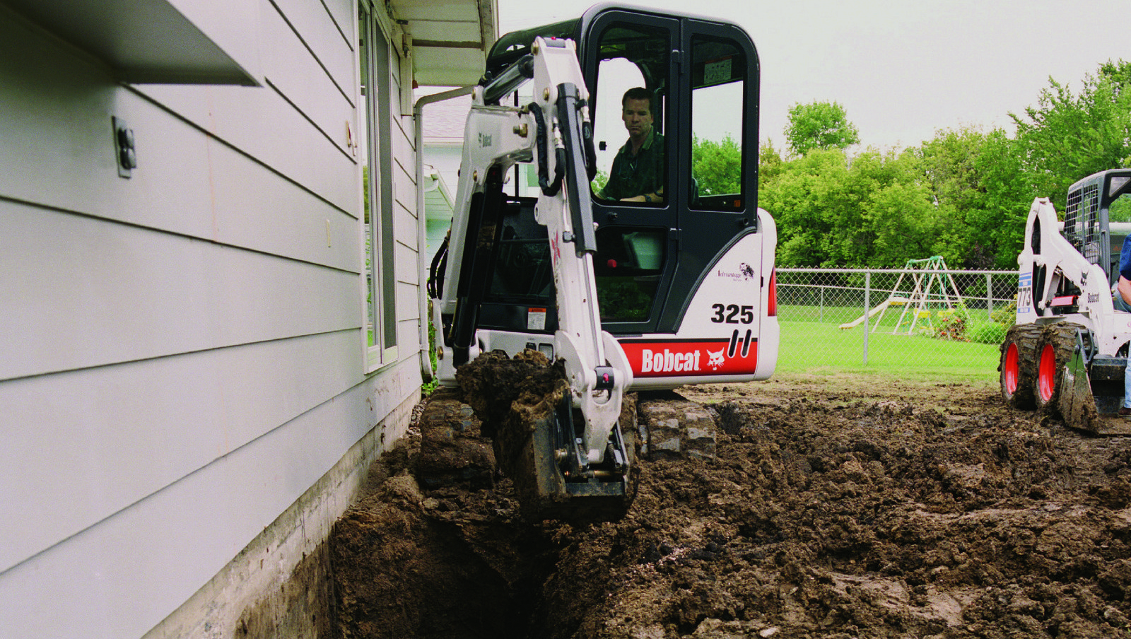 bobcat rental backhoe 325 all american do it best rentals