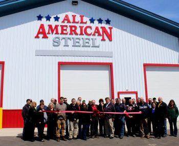 AA Steel Ribbon cutting 1024x768