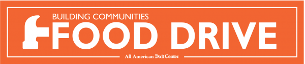Building Communities Food Drive Logo - LONG