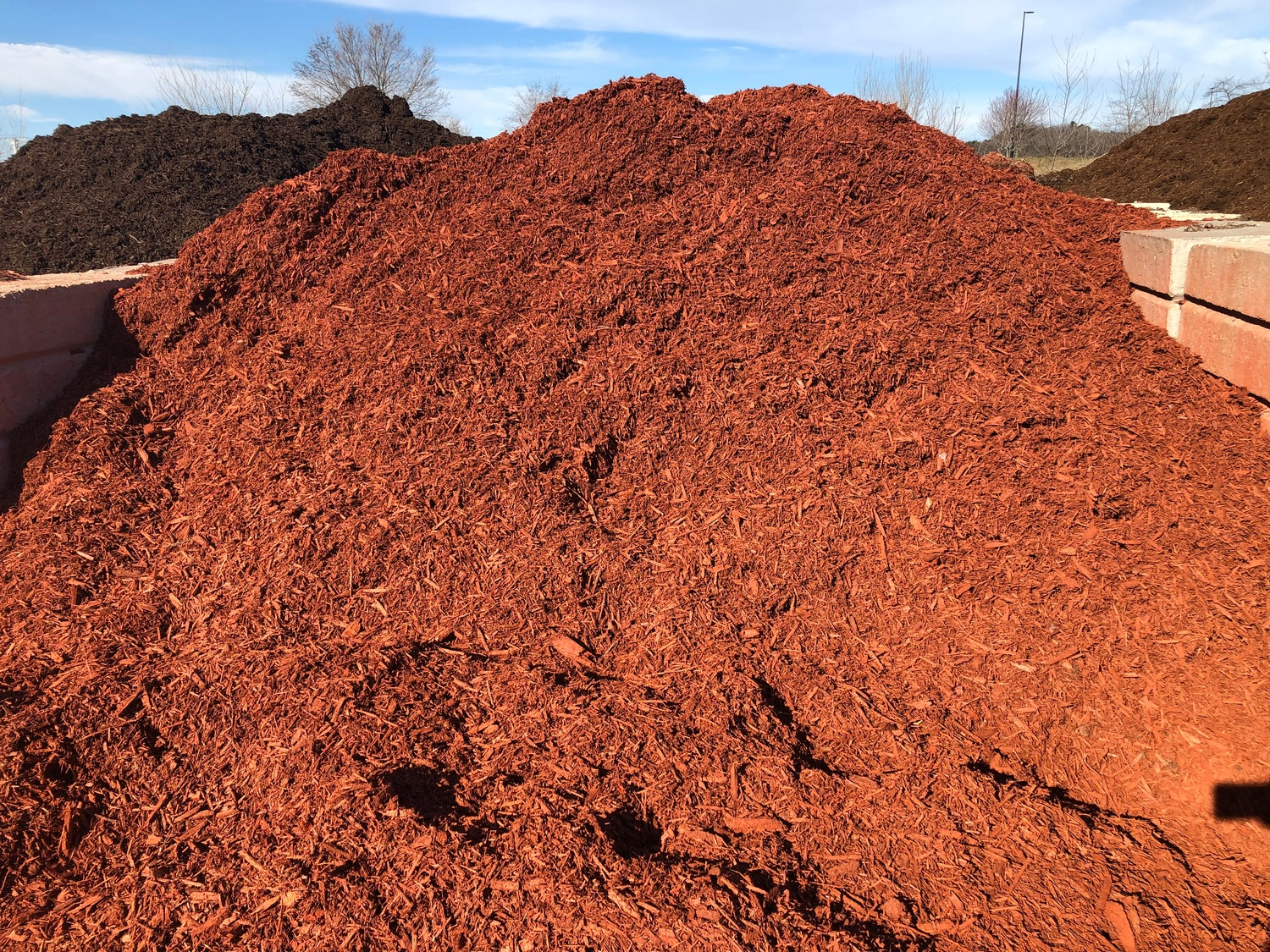 Bulk Red Mulch