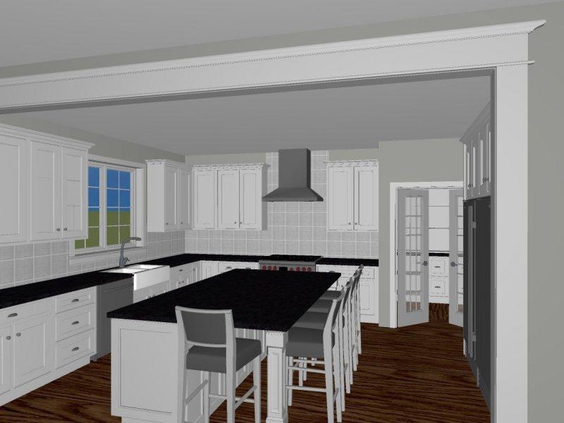 Custom kitchen designB
