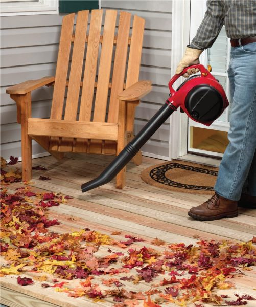 Leaf Cleanup Tips Power equipment blower