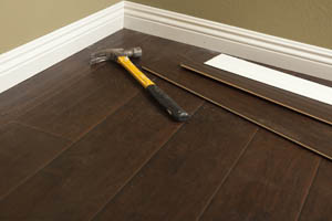 Flooring products from All American Do It Center